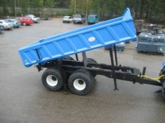 Two-axle trailer