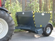 Trailer spreader